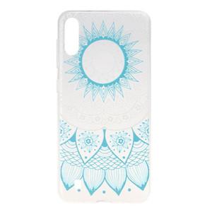 Para samsung galaxy m10 case capa transparente tpu macio cor decoração da bicicleta da torre de borboleta menina casos de telefone celular