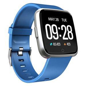 Y7 Smart Watch Fitness Tracker Heart Rate Monitor Blood Pressure Women men Clock Smartwatch Waterproof Free Shipping