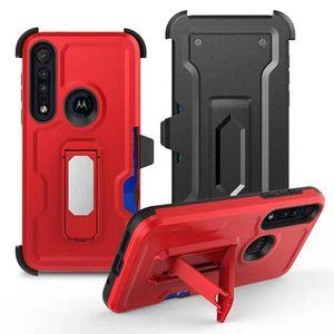 Per MOTO G8 Inoltre G8 gioco caso LG Aristo 4 plus Alcatel 3V Phone Case accessorio del telefono mobile Con clip