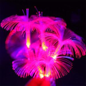 Hot 10LED Winde Fiber Optic Batterie String Nachtlicht Lampe Mni Lichterkette Weihnachten Xmas Decor saiten