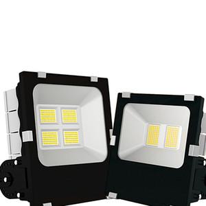 3030 Luz de inundação 100W Outdoor Luz de trabalho com IP66 impermeável, 6000K White Light, Projector para Garagem, Jardim, gramado e Pátio