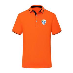 versión tailandesa calidad de la camisa Brescia FC manera del algodón del polo de los hombres de verano de fútbol de manga corta camiseta de entrenamiento de fútbol camisa de los hombres de la solapa polo polo