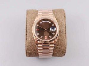 Mens Luxury Superlative EW factory log type 3255 автоматический механический механизм 128238 часы 36 мм швейцарское золото 555 часов