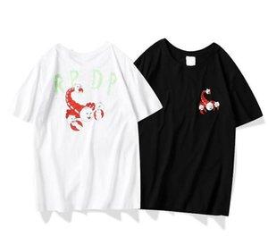 20 RIPNDIPS European American summer new high-quality cotton T shirt casual comfortable wild breathable tshirt scorpion cat printed tshirts