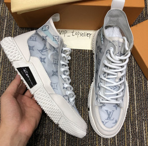 D2020 new limited trend high-top casual shoes mesh couples shoes fashion wild men and women sports shoes original packaging box size 35-45