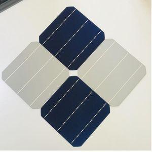 ALLMEJORES 25pcs монокристаллический солнечных батарей 0.5V 4.8W Grade A Тип 156мм Фотоэлектрические панели сотового поделки 120W 12V Mono панель солнечных батарей