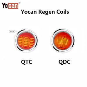 Original Yocan Regen QTC Coils Quartz Tri Coil QDC Quartz Dual Coil For Wax Clean Vapor 5pcs pack