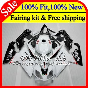 Injection for Aprilia RS4 RSV125 06 07 08 09 10 11 RS-125 0HT13 RS 125 R RS125 2006 2007 2008 2009 2010 2011 Glitter white Fairing Bodywork