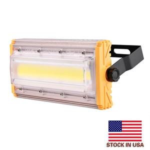 USA المالية 50W 220V وحدة ضوء الفيضانات الأضواء الكاشفة وحدة الجمع بين مقاوم للماء أضواء الأمن في الهواء الطلق حديقة مصباح الإضاءة لاعبا اساسيا