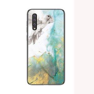 Marbre Verre Trempé Pour Samsung Galaxy A10 A10E20 A20E A30 A40 A60 A70 M10 M20 Coque de Téléphone