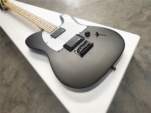 Jim Root Jazzmaster Autograph / 6 String Electric Guitar / Maple Cuello / Sublight Guitarra eléctrica negra / envío gratis