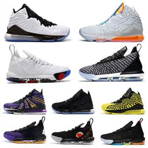 LeBron James Равенство Lakers LBJ 15s 15 Баскетбол обувь черный белый CAVS Мужская обувь 15S EP дизайнер тренеры мужские кроссовки размер 7-12