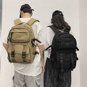 Double Shoulder Backpack for Men Women Fashionable Oxford Cloth Bag Leisure Large School Backpack for Teenage Girls Bookbag
