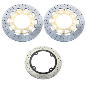 BIKINGBOY For DL 650 V-Strom 07-12 DL 650 V-Strom ABS 07-19 1000 XT ABS 15-19 Front Rear Brake Discs Disks Rotors