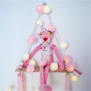 LED luces de cadena de flor de Rose, con pilas Cadena romántica flor de Rose Hada de luz de lámpara al aire libre para el día de San Valentín, la Navidad, la Fiesta