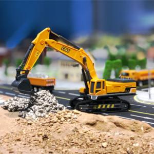 어린이 Y200318 중고 Caterpillar 굴삭기 장난감 트럭 1시 55분 다이 캐스트 건설 장난감 자동차 모델 파는 트랙터 자동차 엔지니어링 장난감