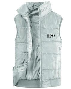 Nueva chaqueta para hombre sin mangas del chaleco de la cara de los hombres del invierno ocasional capas de la moda masculina de Down Los hombres de chaleco