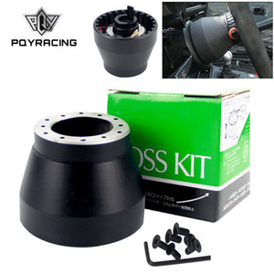 PQY - Black Racing Steering Wheel Hub Adapter Boss Kit For BMW E30 PQY-HUB-E30