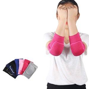 Entrega rápida Niños Ejercicio Deportes danza Esponja Elbow aptitud anti-caída anticolisión transpirable de protección de ratón seguras FY2046