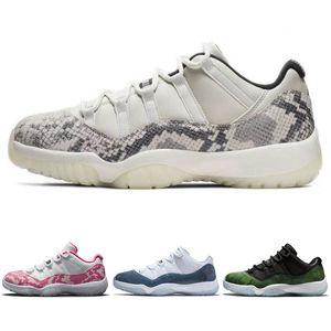 11 Low Pink Snakeskin Best 2019 White Watermelon Black Women Retro Shoes AH7860-106 Sneakers Calzado deportivo