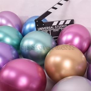 Bunte Ballone 50pcs / lot stellten schönen Geburtstagsblumenstrauß 12inches oder Babyparty ein. Wunderschöne Ballondekorationen mit kostenlosem Geburtstagsgeschenk für Mädchen!
