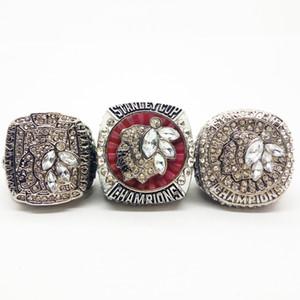 Homens de Moda de Nova Ring2010-2013-2015 Chicago Blackhawks anel Campeonato Fabricante transporte rápido