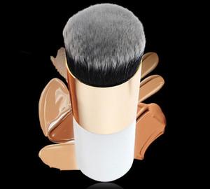 Portable Grand tête ronde pinceaux de maquillage pour BB Crème visage doux cheveux Fondation Brosses 6 COSMETIQUES Outils Brosses