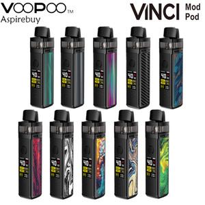 """VOOPOO VINCI Mod Pod Kit 1500mAh Batterie 40W 5,5 ml VINCI Pod Cartridge 0,96"""" TFT-Bildschirm GENE.AI Chip PnP Coil Authentic"""