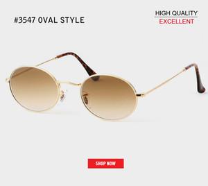 vente chaud uv400 rétro lunettes de soleil ovales femmes célèbre marque petit or noir rd3547 lunettes de soleil rétro vintage femme rouge lunettes oculos gafas