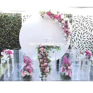 Новый стиль Элегантные украшения свадебного события стойки свадьба МОСТКОВ стенд для этапа свадебного украшения backgroup senyu0203
