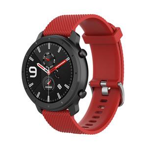 22мм S Силиконовый ремешок для Ticwatch Pro Sport ремешок для Samsung Galaxy Watch (46мм) для Huawei Wristband 2 Классический LG Watch