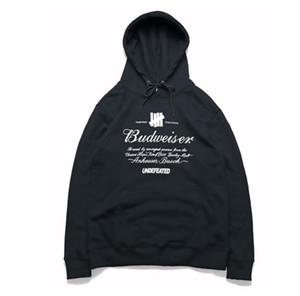 Frauen der Männer Designer Hoodies Undefeated beiläufige Art und Weise Art-langärmliger Pullover Herbst-Winter-Druck PulloverHoodies asiatische Größe M-2XL