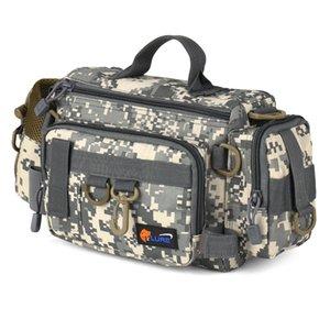 s Многофункциональной Рыбалка сумки Камуфляж рыболовных снастей сумка карп Рыба Rod талия сумка Bait Box сумка полиэстер чехол пак для PESCA