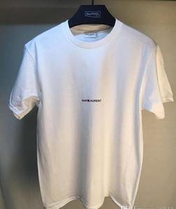 Herren T-Shirt Classic Paris / SLP Kurzarm Herren Lauren Tags Streifen Brief drucken T-Shirt Tees Casual Top