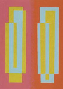 Josef Albers Oscillant Peintures Toile Home Décor peint à la main huile d'impression HD Peinture Sur Toile Art mur toile Photos 200208