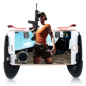 Data Frog Мобильный контроллер Trigger Game Fire Кнопка телефона Джойстик для PUBG Для IPhone 7 8 Plus X Для Xiaomi mi 8 Android