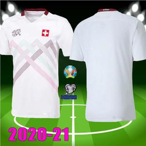 европейского Кубка 2020 Швейцария футбол Джерси Шачири 20 21 Бехрами Сеферович Инлер футбол с ребятами рубашки размер: S-ХХL