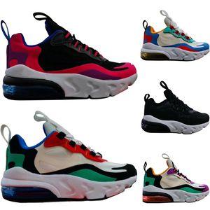 nike air max 270 27c حار الاطفال الثلاثي tn أحذية للبنين مصمم أحذية الفتيات منصة الطفل الرياضة الأطفال chaussures المراهقين سميكة سوليد الشباب