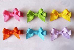 Kız Çocuk Çocuk Duckbill Firkete Şeker Renk Mini Tokalarım Aksesuarları FJ3212 için güzel Tokalar Saç Yaylar Klipler Gökkuşağı