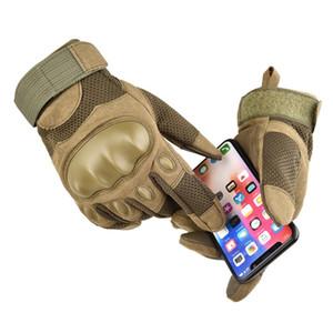 Sport Touch Screen Handschuhe Jagd Vollfinger Anti-Rutsch-Handschuhe Harter Knuckle Tactical Armed
