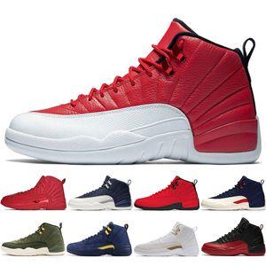 12 12s Gym red Bulls mens Basketball shoes Michigan International Flight College Navy Flu Game Chinese New Year men sports sneakers designer