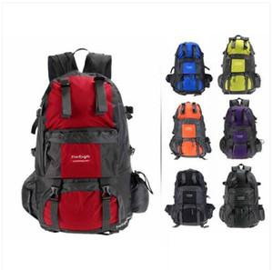 Ventas al por mayor envío gratuito bolsa de hombro Mochila de deporte al aire libre Senderismo Trekking Bolsa Camping Viajes Escalada Mochila