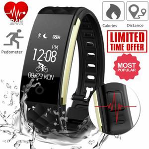 Bracciale orologio da polso GPS Bluetooth unisex intelligente Multifunzione monitor di frequenza cardiaca sport fitness da polso digitale