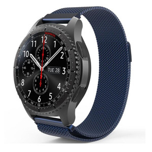 Newest Milanese Loop Wrist Mesh Metal Watch Strap Band For Samsung Gear S3 S2 Classic   Frontier 20mm 22mm Watch Band