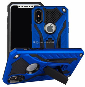 Hybrid Armor Case Kickstand Phone Cover Kickstand soft case for iPhone XR XS Max X 8 7 Plus Samsung S10 S9 Note 9