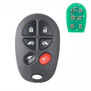 1PC Remote Control Car Key Fob GQ43VT20T for Sienna 2004 2005 2006 2007 2008 2009 2010 2011 2012 2013 2014 2015 2016