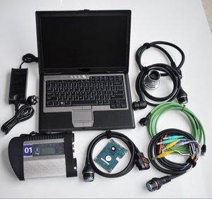 2019.12v mb c4 star pour la star sd connexion c4 diagnostic étoile SD 4 avec un ordinateur portable h-dd + D630 prêt à travailler
