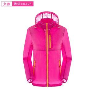 2019 новый Северный летний новый бренд женская мужская быстрая сушка открытый повседневная Спорт водонепроницаемый УФ Куртки пальто лицо ветровка черный