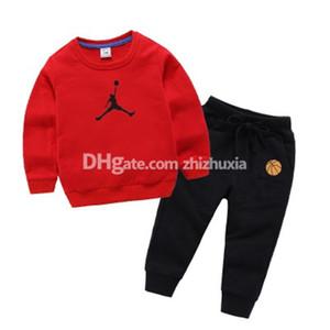 Caldo Cotone di lusso stampato Vestiti di marca di autunno dei bambini di alta qualità Sets Sets Abbigliamento vendita calda del ragazzo
