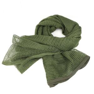 Military Men Schals Arab Tactical Wüste Armee Keffijeh Net Tuch-Schal-Schal Herbstmädchen Winter-Baumwollmischung Gesichtsmaske Schal